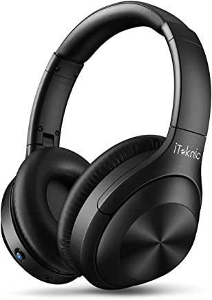 Active Noise Cancelling Headphones, iTeknic Over Ear...