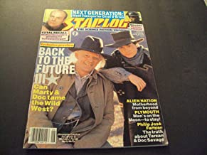 Starlog #155 June 1990 Back To The Future lll, Robocop