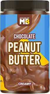 MuscleBlaze Chocolate Peanut Butter, Creamy, 750g, No Oil Separation (Creamy, 750g)