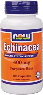 NOW Foods Echinacea Root 400 mg