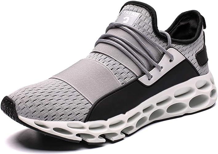 MYXUA Chaussures de sport pour hommes en plein air chaussures de course occasionnelles chaussures de sport