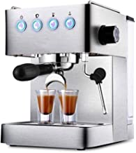 koffiezetapparaat Nieuwe Commerciële Rvs Belangrijkste Huishoudelijke Espressomachine Volledige Semi-automatische Stoom Me...