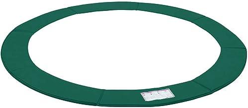 SONGMICS Trampoline randafdekking, randbescherming, veiligheidsmat, UV-bestendig, scheurvast trampoline accessoires, stand...
