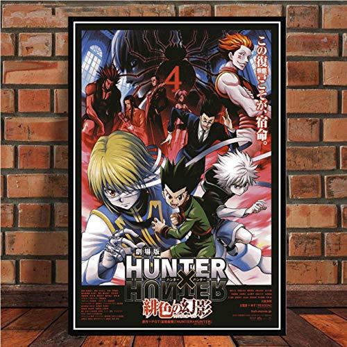 Carteles Impresiones en HD Hunter x Hunter Anime Pintura en Lienzo nórdica imágenes Arte de la Pared decoración del hogar de la Sala de Estar Moderna 40x60cm No Frame PW-1019