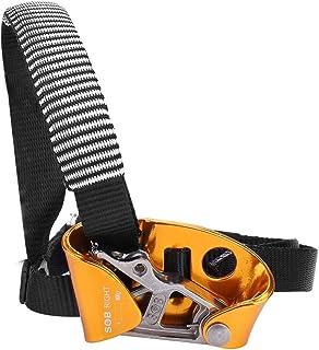 T-best Ascender Foot، Right / Right Ascender Foot Riser برای تجهیزات کوهنوردی صخره نوردی برای کوهنوردی ، صخره نوردی ، نجات آتش یا حفاظت مهندسی.