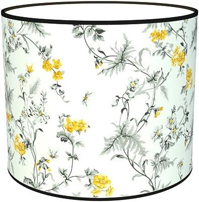 Abat-jours 7111303415583 Imprimé Pithea Lampe de Chevet, Tissus/PVC, Multicolore