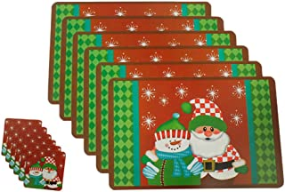 BPOF99 Placemats+Coasters Set of 6, [16.5