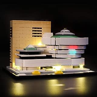LIGHTAILING Light Set for (Architecture Solomon R. Guggenheim Museum) Building Blocks Model - Led Light kit Compatible with Lego 21035(NOT Included The Model)