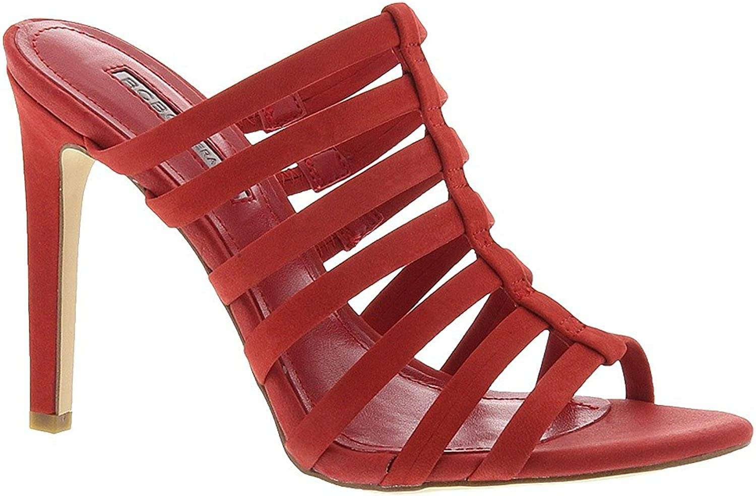 BCBGeneration Callie Women's Sandal 7.5 B(M) US Cherry-Nubuck Red