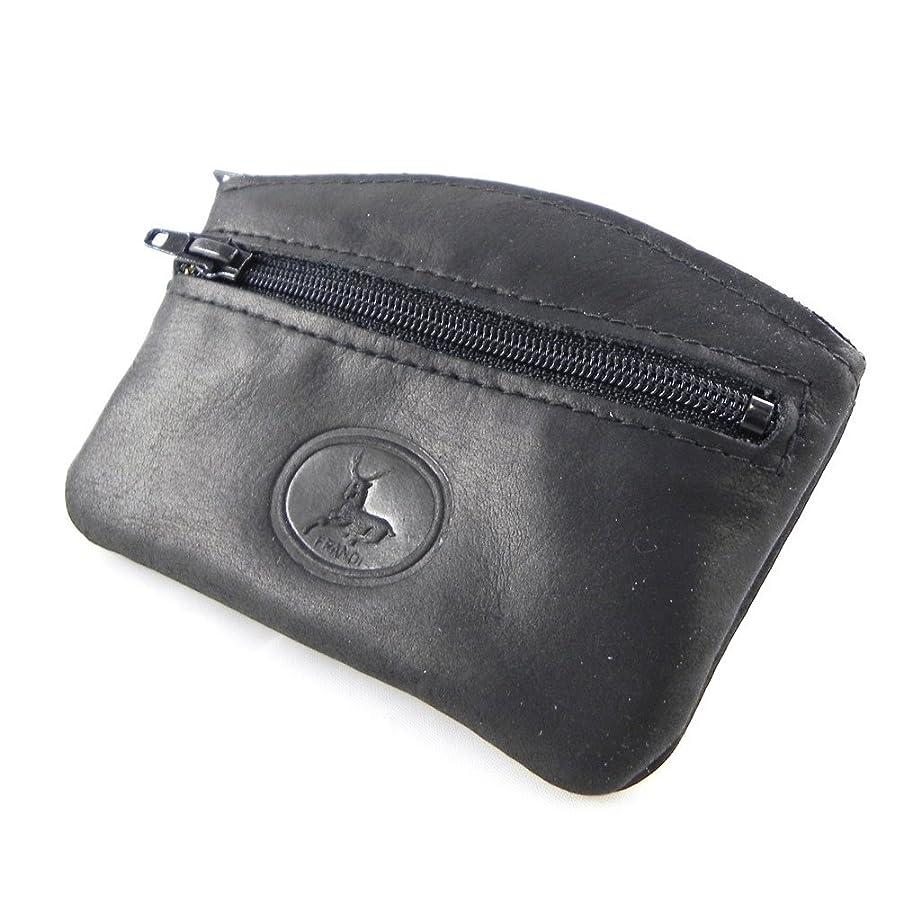 混合チャールズキージング半径Frandi [H6781] - Porte-monnaie Cuir 'Frandi' noir authentique (plat)