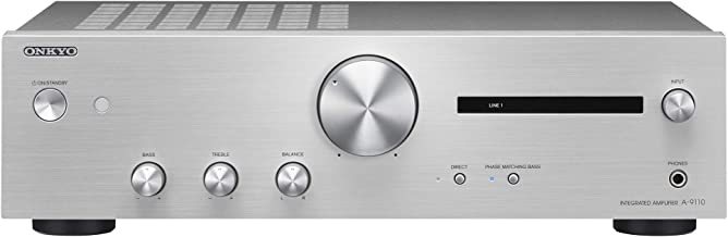 ONKYO Integrated Amplifier A-9110S (Silver)【Japan Domestic Genuine Products】 【Ships from Japan】
