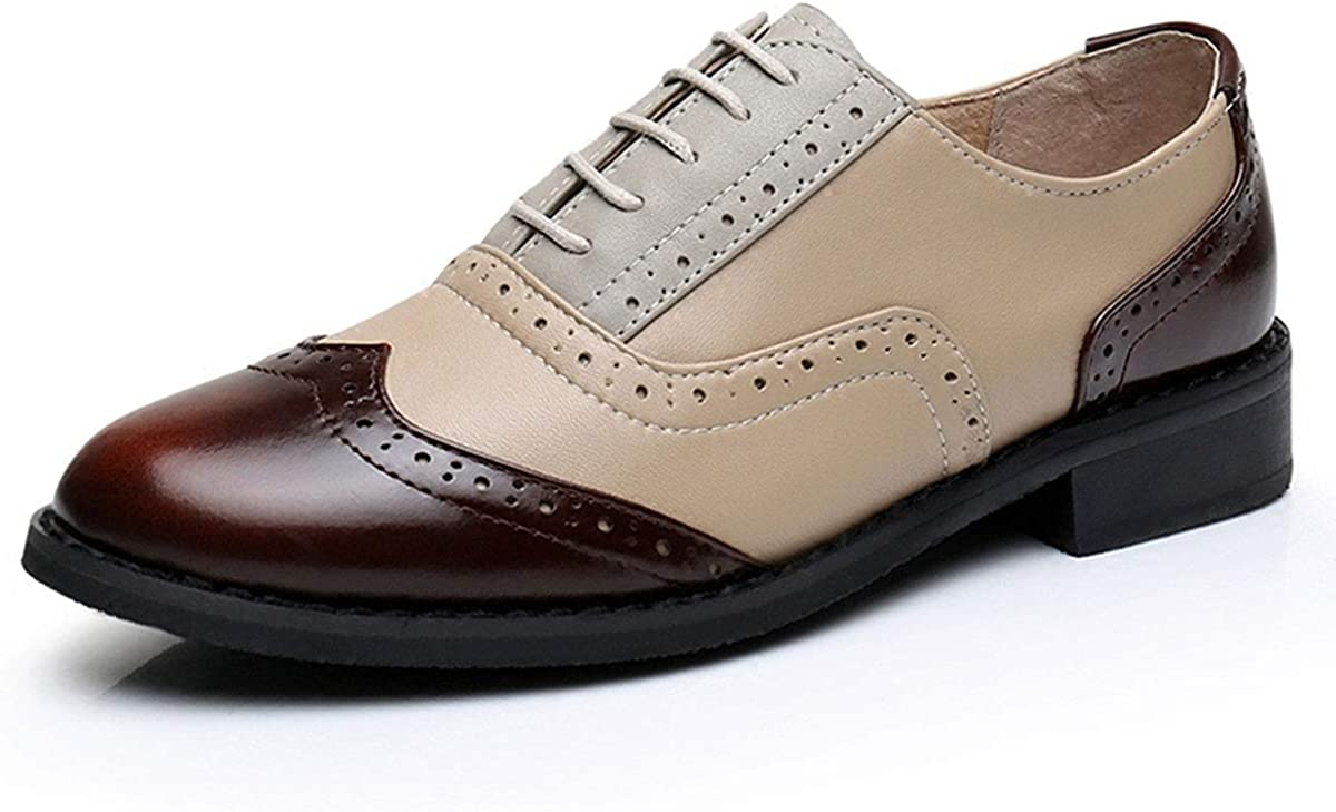 LaRosa Women's Cheap bargain Handmade Assorted Colors Carved L Wingtip Trust Lace-up