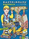Arco de manualidades con mecanismo de papel, excavadora 3D, grúa, cargadora de ruedas, pipper, rodillo para manualidades de papel para niños a partir de 6 años