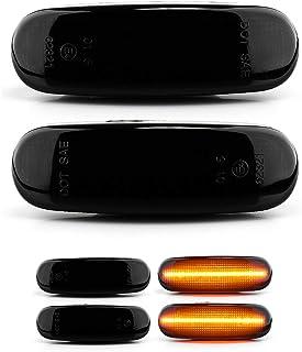 con marchio di controllo E Black Vision V-170169LG 2 x indicatori di direzione a LED a dinamico
