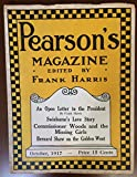 Pearson's Magazine, October 1917 (Vol. 38, No. 4) : Contribution by, and Psycho chrom of Aleister Crowley.