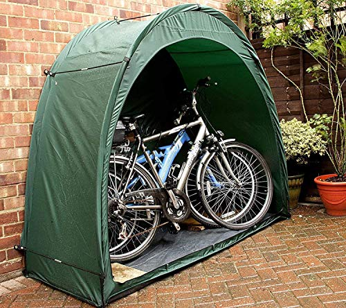 XLQ Bike Tent - Bike Storage Shed,Waterproof Bicycle Cover Sun Shade Window Design,Bike Sheds for Outdoor Insect-Proof