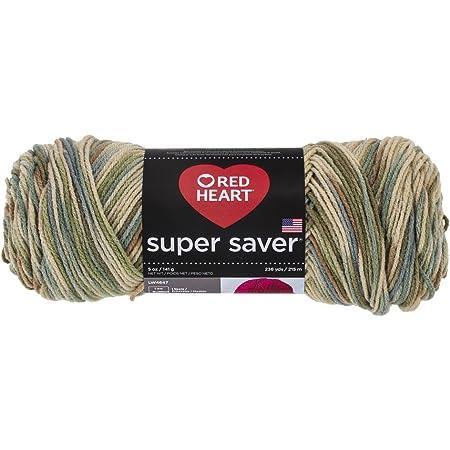 Red HeartSuper Saver Yarn, Aspen