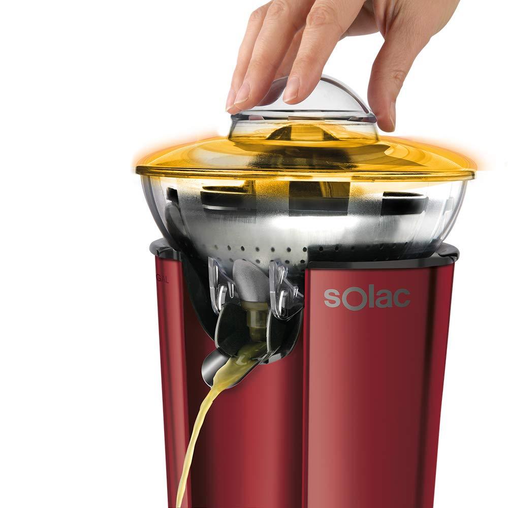 Solac EX6158 Stillo Red Exprimidor centrífugo para obtener un 10% más de zumo, Rojo: Amazon.es: Hogar