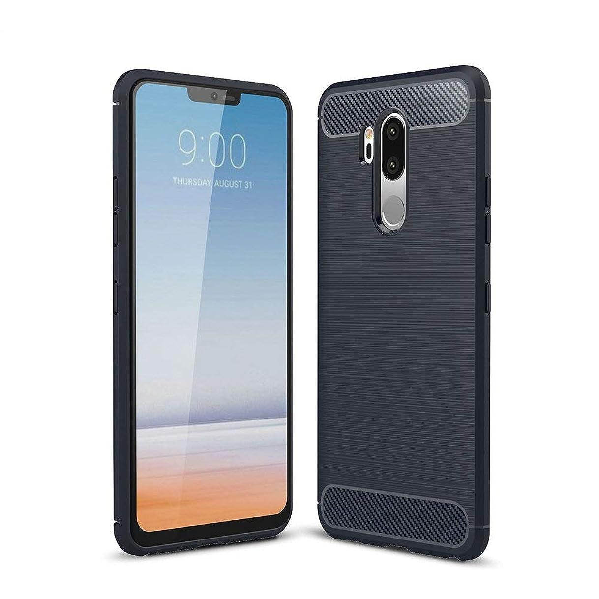 YiOne Android One X5 モバイルシェル 携帯電話 PUレザー 薄型、耐衝撃性、耐摩耗性、傷にも強い、シンプル、ソフトシェル 専用 保護 ケース Y!mobile Androidone X5 専用 (ブラック)