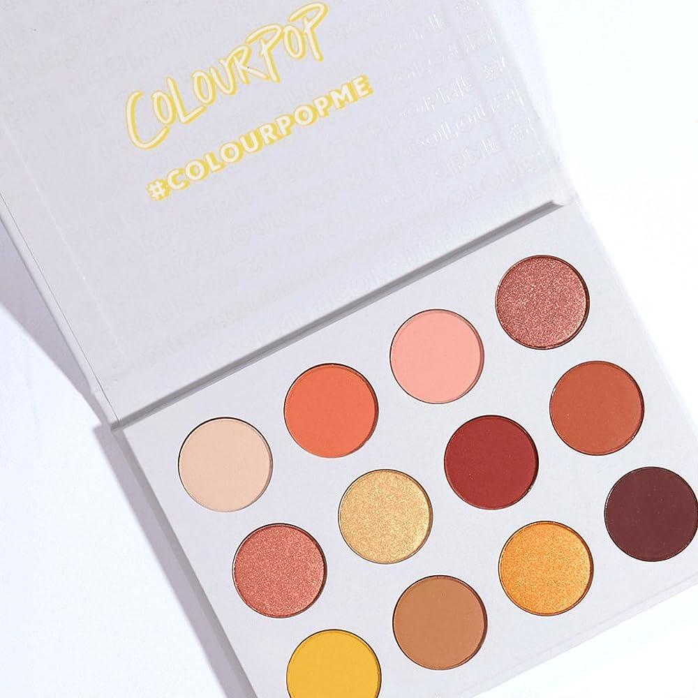 日記不機嫌そうな恩赦ColourPop - Pressed Powder Shadow Palette - Yes, Please!
