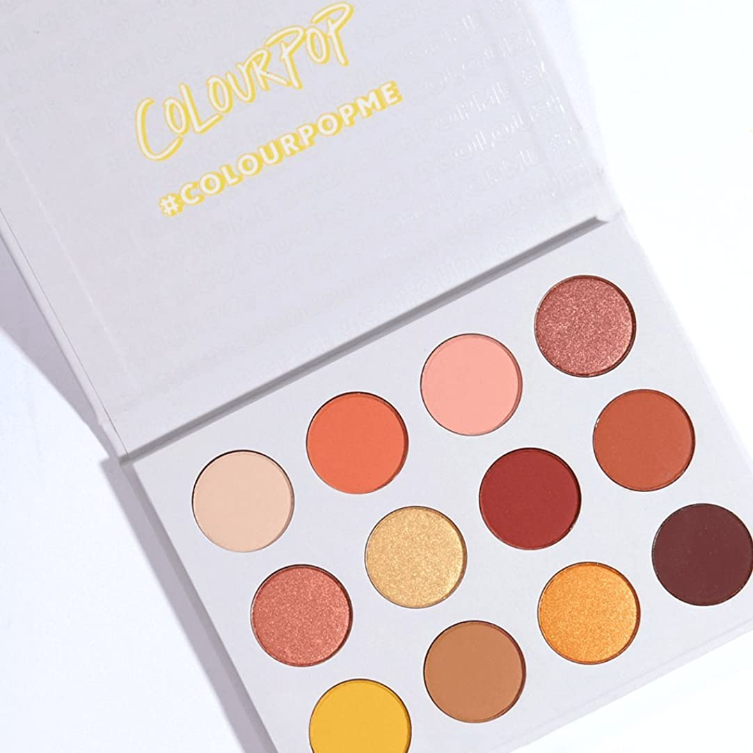 壊す朝の体操をするマトンColourPop - Pressed Powder Shadow Palette - Yes, Please!