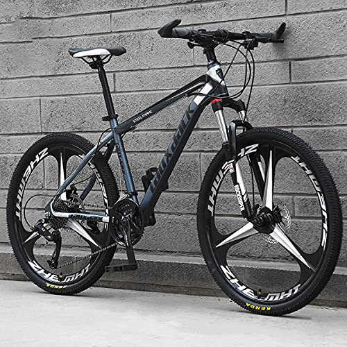 GGXX 24/26 Pollici off-Road Mountain Bike 21/24/27 velocità Freno A Doppio Disco Sospensione Completa Outdoor Mountain/City Bike Uomini E Donne Adulti