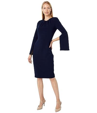 Calvin Klein Long Sleeve Sheath Dress