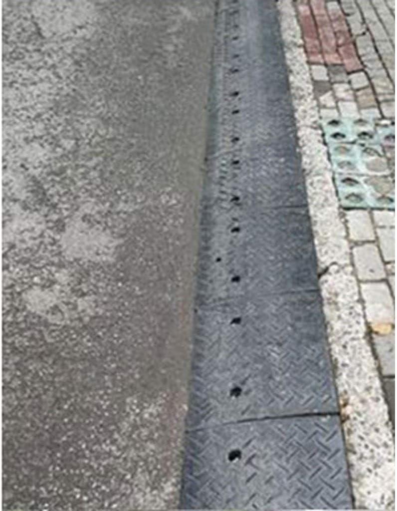 Cuscinetto di soglia gradino rampe di supporto for carichi elevati con altezze multiple Cuscinetto di pendenza for camion Cuscinetto for pendii for strada in gomma da esterno 5-9,8 cm