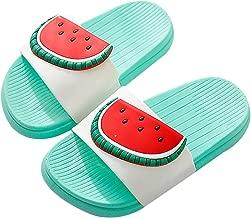 QZBAOSHU Boy Girl Beach Slides Slippers Sandals Women Men Summer Indoor Bathroom Fruit Slippers for Family