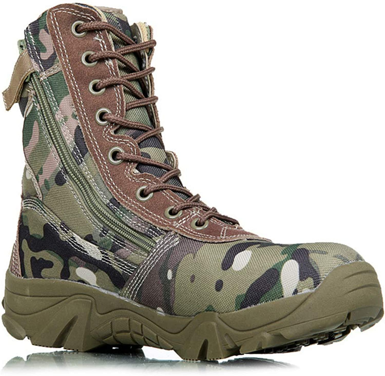 Hiking Sneakers for Men Military Tactical Waterproof Camping Trekking Boots
