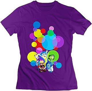 Dvigo Women's Inside Out Poster 100% Cotton Tshirt