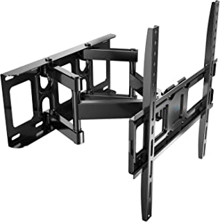 PERLESMITH テレビ壁掛け金具 中型 32-55インチ対応 アーム式 耐荷重45kg LCD LED 液晶テレビ用 前後&左右&上下多角度調節可能 VESA400x400mm (テレビ壁掛け)