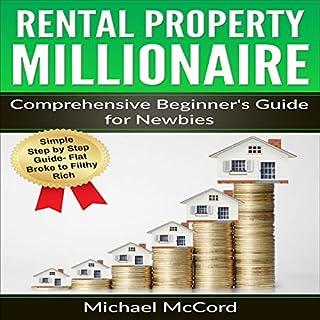 Rental Property Millionaire audiobook cover art