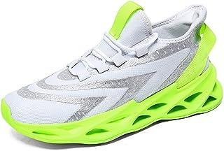 YOHI Mens Running Shoes Blade Sneakers Mesh Breathable Boys Tennis Shoes Lightweight Walking Sneaker