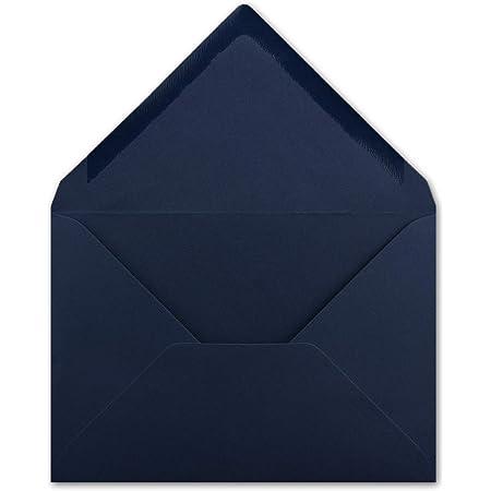 Briefumschläge blau // bright blue, 11,4 x 16,2 cm, DIN C6 25 Stück