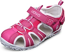 Poppin Kicks Boys' & Girls' Fisherman Closed Toe Athletic Sandals Hot Pink 13.5 M US Little Kid