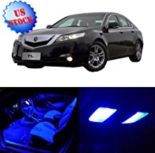 SCITOO LED Interior Lights 14pcs Blue Package Kit Accessories Replacement for 1996 1997 1998 1999 2000 2001 2002 2003 Acura TL
