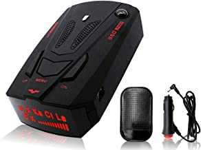 NYZAUTO Cars Radar Detector Highway/City Model 360° Detection Radar Detector Voice Alert, High Speed Camera Alerts