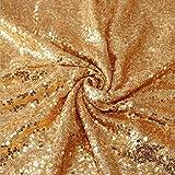 YALINA Cubierta De Mesa De Fiesta Elegante Cubierta De Mantel De Lentejuelas Brillante Mantel Redondo Decoración De Fiesta De Boda Círculo 80cm A17