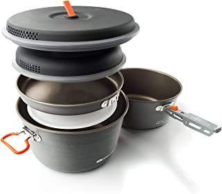 GSI Outdoors - Pinnacle Base Camper, Camping Cook Set, Superior Backcountry Cookware Since 1985