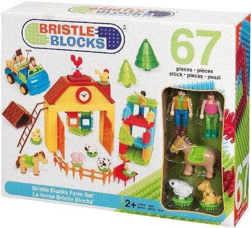 BRISTLE BLOCKS - Juego de construcción para niños (Battat 70.3098) , color/modelo surtido