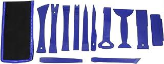 Garneck Ferramentas de remoção de painel de porta com 12 peças para instalação e remoção de painel central de painel azul