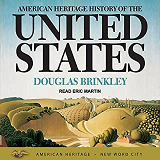American Heritage History of the United States audiobook cover art