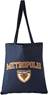 Superman Metropolis University Tote Bag