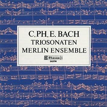 C.P.E. Bach : Trio Sonaten for Flute, Oboe and Continuo