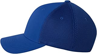 Yupoong Ultrafibre 6-Panel Structured Mid-Profile Permacurv Visor Cap
