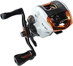 Lixada Baitcasting Fishing Reel 12+1/5+1 Ball Bearings 6.3:1/7.3:1 Gear Ratio High Speed Reel with Magnetic Brake System (Left/Right Hand)