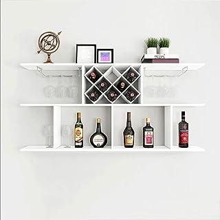 Chai jia Étagère Tenture Murale casier à vin casier à vin étagère Murale Simple vin Restaurant Suspendus Mur monté à la Ma...