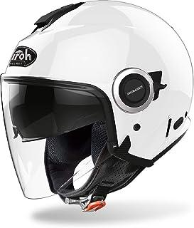 Amazon.es: Helmet Dress Funda Casco Jet Moto Blue Flowers