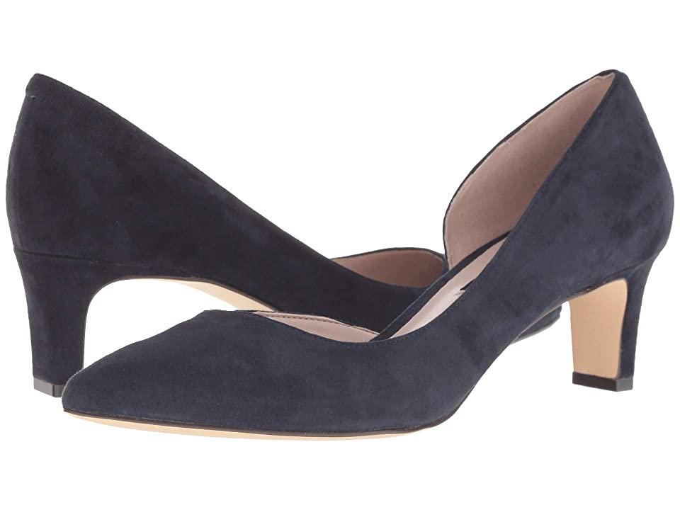 Nine West Adventure (Navy Suede) Women